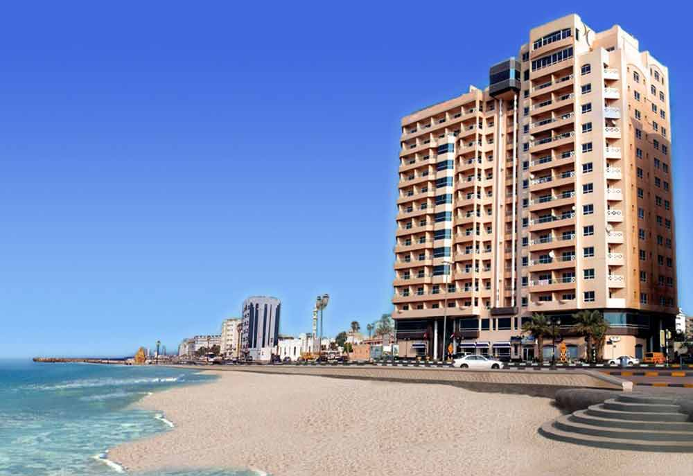 Ramada-Beach-Hotel-Ajman-location